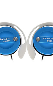 DANYIN DX139 Kopfhörer (Ohrbügel)ForMedia Player/Tablet PC / Handy / ComputerWithMit Mikrofon / DJ / Lautstärkeregler / Sport /