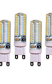 4pcs/lot 12W G9 LED Bi-pin Lights T 104 SMD 3014 850 lm Warm White / Cool White Decorative AC 220-240V