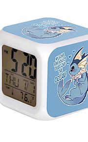 Cartoon Pet Colorful Luminous Alarm Clock-2#