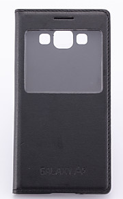 Per Samsung Galaxy Custodia Custodie cover Con sportello visore Con chiusura magnetica Integrale Custodia Tinta unita Morbido Similpelle