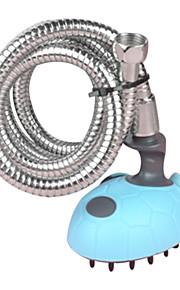 Dog / Chat Accessoires de toilettage / Nettoyage Brosses / Peignes / Bains Massage Plastique / Caoutchouc / Acier inoxydable Bleu / Rose