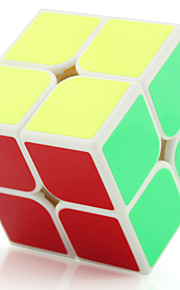 Magic Cube / Puzzle Toy IQ Cube Yongjun Two-layer Flourescent / Speed / Professional Level Smooth Speed CubeMagic Cube