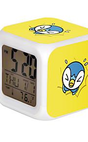 Poke Ball Colorful Flash Cartoon Alarm Clock-22#