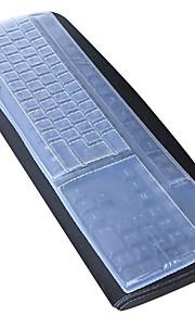 cubierta del teclado del ordenador de sobremesa de silicona 44.5 * 13cm