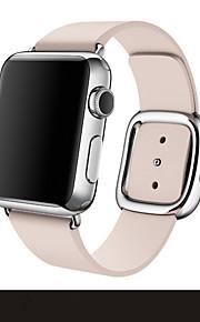 Blå / Brun / Pink Lær 款式新颖、现代风格、工艺精细 Moderne spenne For Apple Se 38mm / 42mm