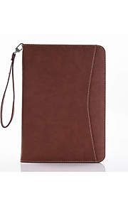 Ultra-thin Vintage PU Holster Wake Function Can Card Wallet Stent with Hanging Rope for Ipad Pro 9.7