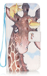 Birds Deer 3D Painted Patterns PU Leather Case Cover For Samsung GalaxyS7 edge/S7/S6 edge plus/S6 edge/S6/S5/S4