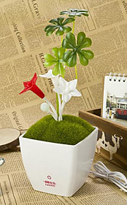 sieni kukkia pussitettu Stapelia usb lamppu led yövalo