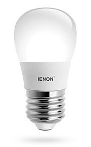 3W E26/E27 LED-globepærer S14 6 SMD 240-270 lm Varm hvit / Kjølig hvit Dekorativ AC 100-240 V 1 stk.