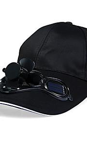 солнечная энергия крышка вентилятора Sunhat с воздушным вентилятором для летнего спорта на открытом воздухе на велосипеде