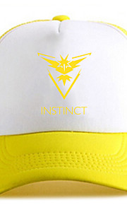 Pocket Little Monster Instinct Yellow Adjustable Tennis Cap