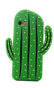 espalda A Prueba de Golpes Fruta Silicona Suave cactus Cubierta del caso para Apple iPhone 6s Plus/6 Plus / iPhone 6s/6 / iPhone SE/5s/5