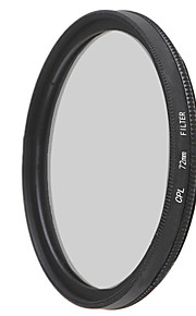 emoblitz 72 milímetros CPL lente filtro polarizador circular