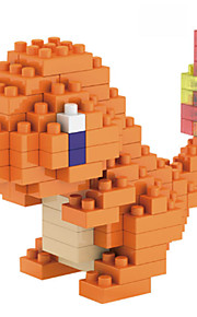 LNO Brand Charmander ABS Super Mini 124 Pieces Diamond Blocks
