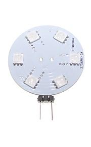 2W G4 / GZ4 LED-lamper med G-sokkel Innfelt retropassform 9 SMD 5050 80-120 lm RGB Dekorativ DC 12 / AC 12 V 1 stk.