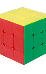 Rubiks kube IQ Cube Magic Cube Tre Lag Hastighed Glat Speed Cube Magic Cube puslespil Hvid ABS