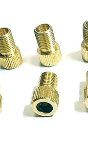 Bicycle Pure Copper Linear Valve Adapter Converter Head