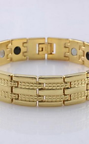 Hologram Bracelet Stainless Steel Fashionable Daily / Casual Jewelry Gift Gold