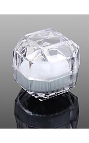 Smykkeskrin Akryl 1pc Gennemsigtig
