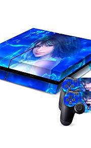 תיקים, נרתיקים ועורות-PS4-B-Skin-USB-פי וי סי-PS4