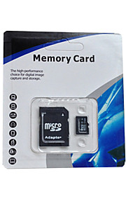 microSD flash tf memoey micro sd-kort (2 GB 4gb 8GB 16gb 32gb 64GB 128GB) med sd adapter