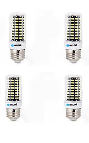15 E14 / G9 / GU10 / B22 / E26/E27 נורות תירס לד B 80 SMD 5733 1200 lm לבן חם / לבן קר דקורטיבי AC 220-240 V ארבעה חלקים