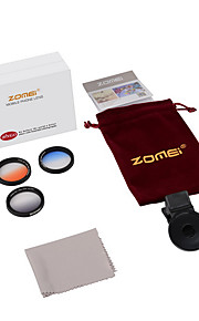 Zomei® M2  GC-Grey+GC-Bule+GC-Orange Clip Iphone Lense for Iphone/Android Smartphone Camera