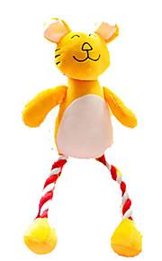 giocattoli per animali di peluche denti molari famiglia corda di cotone di recare giocattoli giocattoli di peluche gambe lunghe