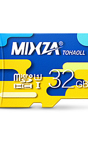 mixza 32 gb klasse 10 micro sd tf flash-hukommelseskort højhastigheds ægte læsehastighed: 80 MB / s vandtæt