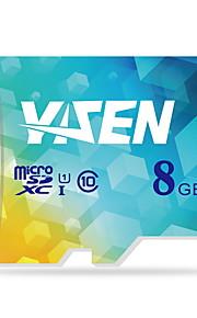 yisen 8GB UHS-I u1 / klasse 10 microSD / microSDHC / microSDXC / tfmax læse speed80 (mb / s)