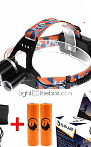 U`King ZQ-X823 Headlamp  LED 4 Mode 9000LM  XM-L T6 18650