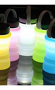tilfeldig farge folding solcelle drift flasker glass lys
