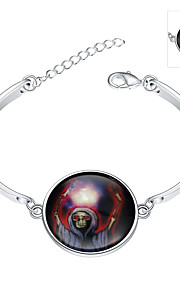 Jewelry 925 siver Bracelet Bracelet Glass Party Jewelry Gift Silver1pc YGH0017-A