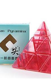 Brinquedos / apaziguadores do stress / Cubos Mágicos Pyraminx / Toy magic Cube velocidade lisa Magic Cube quebra-cabeça Arco-Íris Plástico
