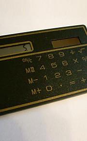 1PC  Solar  Mini Hand-Held Portable Pocket Calculator
