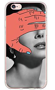 Skal Ultratunn / Genomskinlig Sexy Lady TPU Mjuk Fallet täcker för Apple iPhone 6s Plus/6 Plus / iPhone 6s/6 / iPhone SE/5s/5