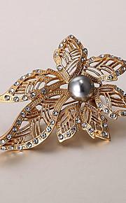 europæiske og amerikanske mode zircon perle broche serie 017