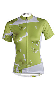 PALADIN Fahhrad/Radsport Trikot/Radtrikot / Oberteile Damen Kurze ÄrmelAtmungsaktiv / UV-resistant / Rasche Trocknung / Reflexstreiffen /
