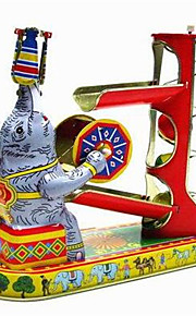 Игрушка новизны / Логические игрушки / Игрушка с заводом Игрушка новизны / / Слон / / Металл Серебристый Для детей