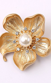 europæiske og amerikanske mode zircon perle broche serie 020