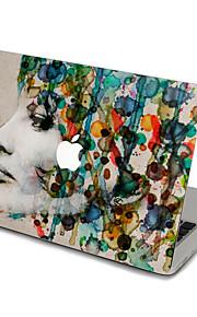 1개 스크래치 방지 투명 플라스틱 바디 스티커 울트라 씬 / 무광 / 패턴 용망막과 맥북 프로 15 '' / 맥북 프로 15 '' / 망막과 맥북 프로 13 '' / 맥북 프로 13 '' / MacBook Air 13'' / MacBook Air