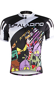 Breathable and Comfortable Paladin Summer Male Short Sleeve Cycling JerseysDX681 Elf Family
