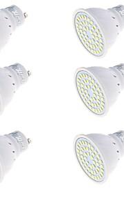 3 GU10 LED-spotpærer MR16 48 SMD 2835 250 lm Varm hvit / Kjølig hvit Dekorativ AC 220-240 V 6 stk.