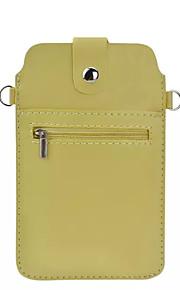 Cuerpo Completo billetera / Soporte de Tarjeta Color Sólido Cuero Sintético Suave Cubierta del caso para OtherZTE AXON 7 / ZTE Blade L5