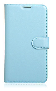 Hel kropp plånbok / Korthållare / med stativ / Flip Solid Färg PU-läder Hård Fallet täcker för OtherArchos 50e Helium / Archos Diamond