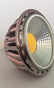 5 GU5.3(MR16) LED-spotpærer MR16 1 COB 450 lm Varm hvit Dekorativ AC 12 V 1 stk.