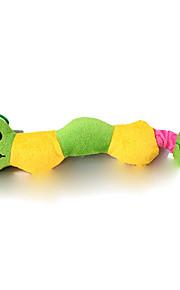 pet giocattoli di peluche con colore tre giocattoli della corda del cotone coccinella giocattoli di colore