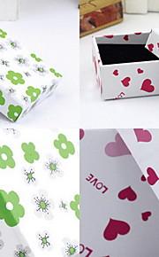 Smykkeskrin Resin 1pc Grøn / Pink