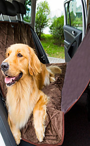 High Quality  Non Slip Quilted Soft Short Plush Dog Auto Travel Car Trunck Seat Cover Breathable And Washable