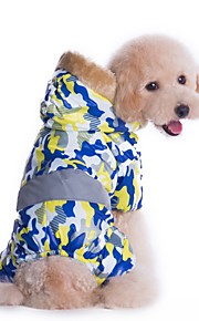 Solider Style Camouflage Costume Coat with Hoodie for Pets Dogs(Assorted Sizes and Colours)
